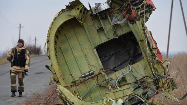 Dutch experts work at Malaysia Airlines Flight MH17 crash site - Sputnik International