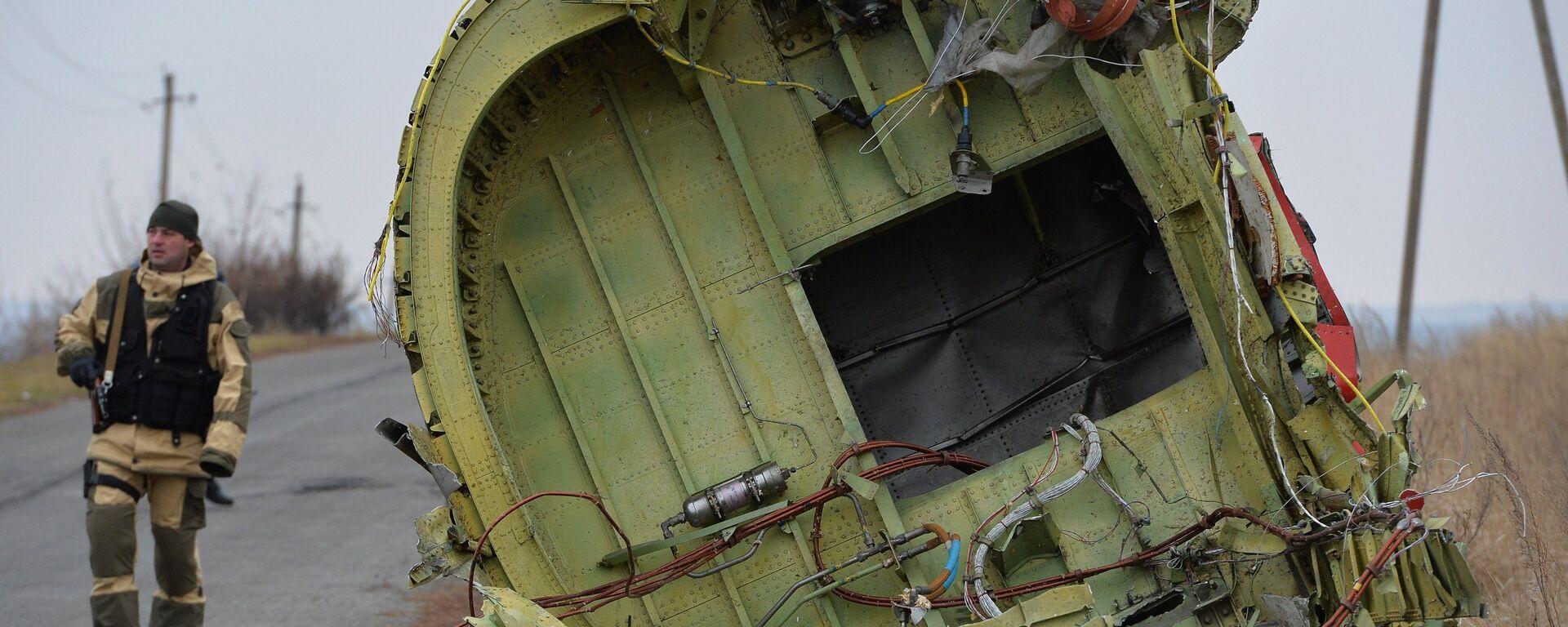 Dutch experts work at Malaysia Airlines Flight MH17 crash site - Sputnik International, 1920, 07.09.2021