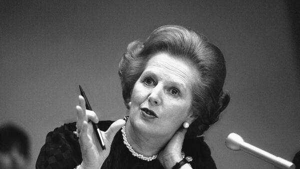 Former British Prime Minister Margaret Thatcher - Sputnik International