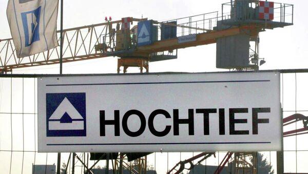 Hochtief, a German construction company - Sputnik International