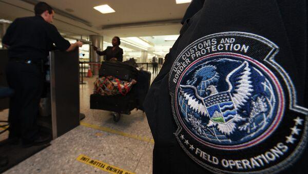 US Customs and Border Protection Officer - Sputnik International