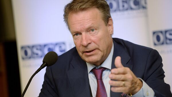 Chairman of the Parliamentary Assembly, Ilkka Kanerva, attends the 24th Annual Session of the Organization for Security and Co-operation in Europe, Parliamentary Assembly, in Helsinki, Finland, Thursday, July 9, 2015 - Sputnik International