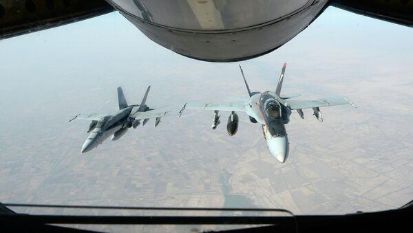 US fighter jets in Syria - Sputnik International