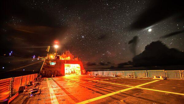 Littoral Combat Ship USS Fort Worth (LCS 3) - Sputnik International