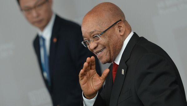 President of the Republic of South Africa Jacob Zuma - Sputnik International