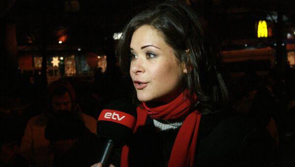 Maria Gaidar. File photo - Sputnik International