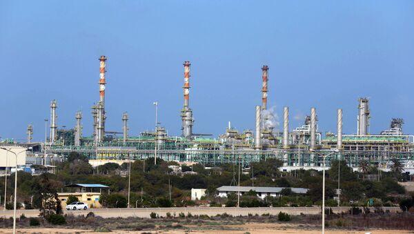 Mellitah Oil and Gas terminal on the outskirts of Zwara in western Libya - Sputnik International