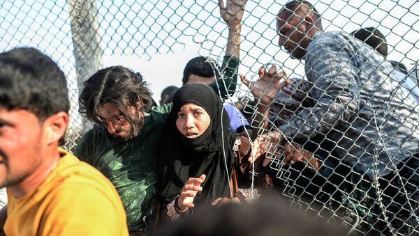 Refugee crisis - Sputnik International