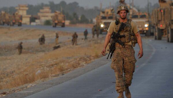 NATO officer in Afghanistan - Sputnik International