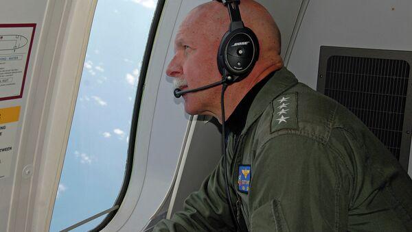Adm. Swift observes operations aboard a P-8A Poseidon. - Sputnik International