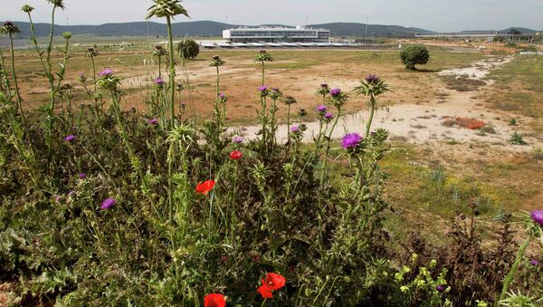 In this May 11, 2011 file photo, the new airport terminal is seen in Ciudad Real, Spain. - Sputnik International