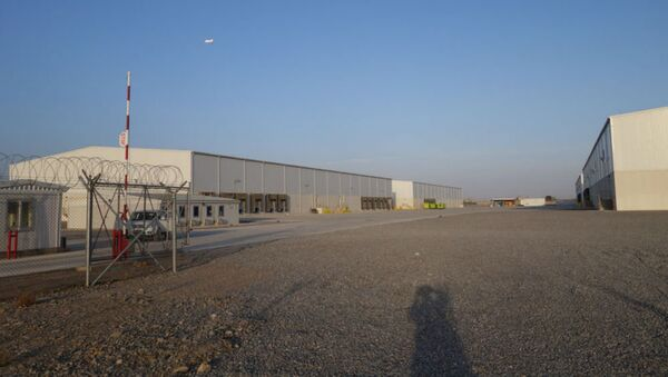 A US military complex of warehouses at Kandahar Airfield in Afghanistan cost $14.7 million to construct. - Sputnik International