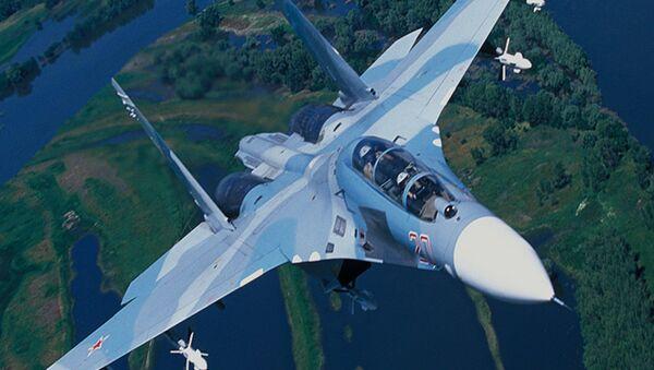 Russia's Su-27, designed as a counterweight to the F-15. - Sputnik International