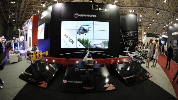The Russian Rostec stand - Sputnik International