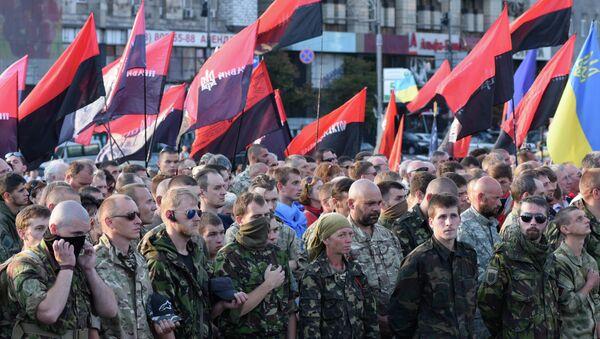 Right Sector public meeting in Kiev - Sputnik International