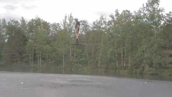 Real Life Hoverboard - Sputnik International