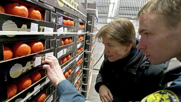 Bagrationovsky customs post in Kaliningrad Region - Sputnik International