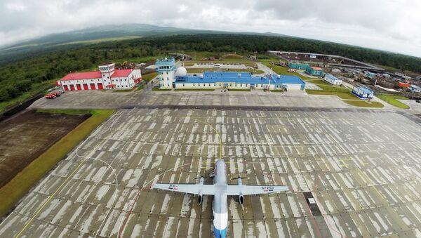 New airport opens on Iturup Island of the South Kuril Islands - Sputnik International