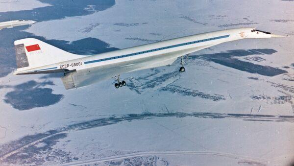 Tu-144 passenger airliner - Sputnik International
