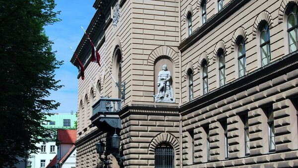 Latvian parliament (the Saeima), Riga. - Sputnik International