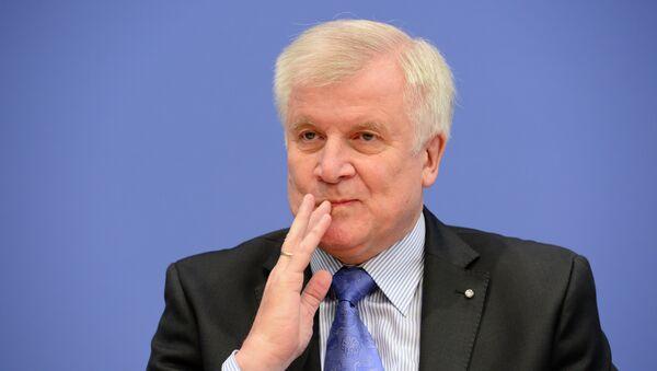 Leader of CDU Bavarian allies Christian Social Union (CSU) Horst Seehofer - Sputnik International