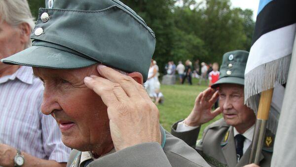 Veterans of 20th Waffen Grenadier Division of SS (1st Estonian) meet in Estonia. File photo. - Sputnik International