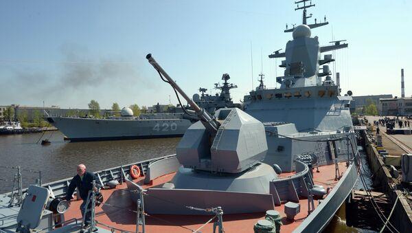 Corvette Boiky of Russia's Baltic Fleet - Sputnik International