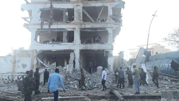 A large blast rocks the Somalian capital Mogadishu - Sputnik International