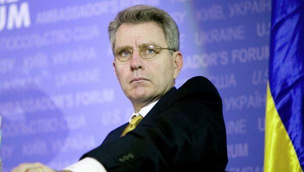 US Ambassador to Ukraine Geoffrey Pyatt - Sputnik International