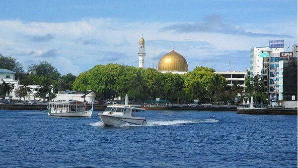 Male, the capital of Maldives - Sputnik International