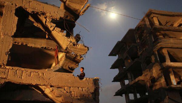 Gaza war crimes - Sputnik International