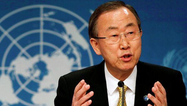 United Nations Secretary-General Ban Ki-Moon - Sputnik International