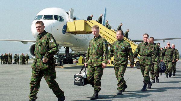Finnish troops - Sputnik International