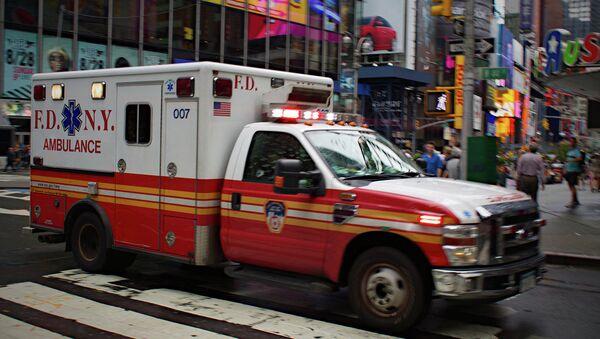Ambulance, Times Square, New York. - Sputnik International