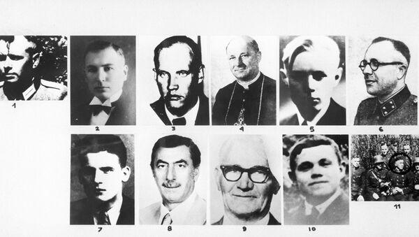 Nazi criminals during the Great Patriotic War of 1941-1945. Reproduction of a photo - Sputnik International