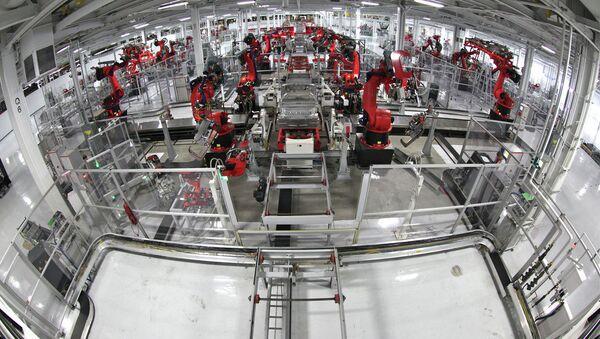 Robots at factory - Sputnik International