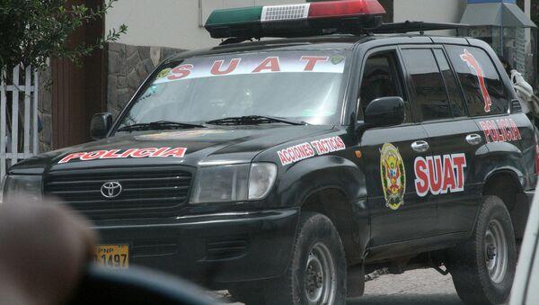 SUAT Police in Cusco peru - Sputnik International