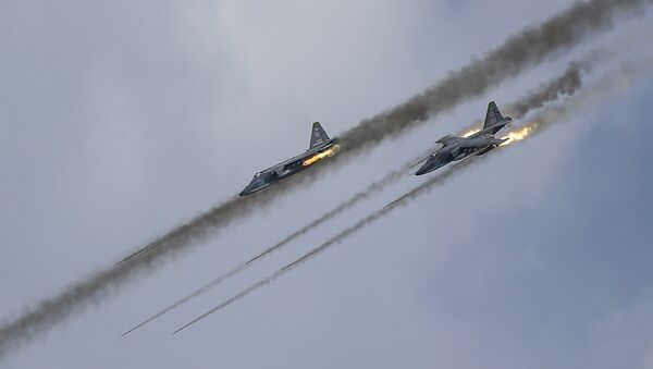 Russian Sukhoi Su-25 Frogfoot ground-attack planes - Sputnik International