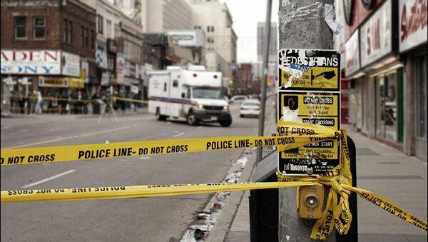 Police line, Toronto. File photo - Sputnik International