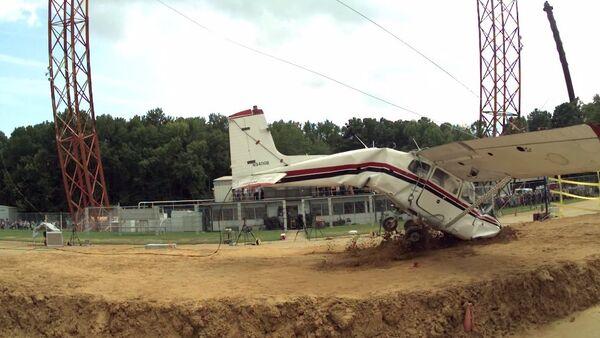 NASA Cessna crash test - Sputnik International