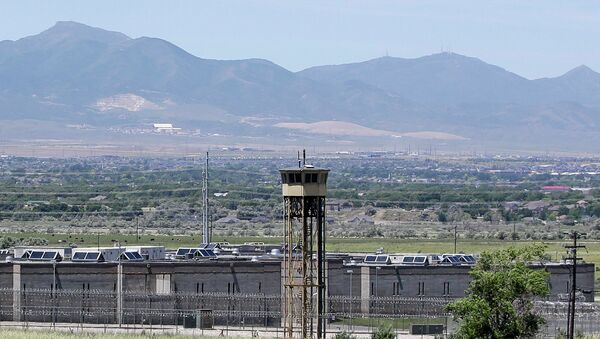 A watch tower is shown at the Utah State Correctional Facility in Draper, Utah. - Sputnik International
