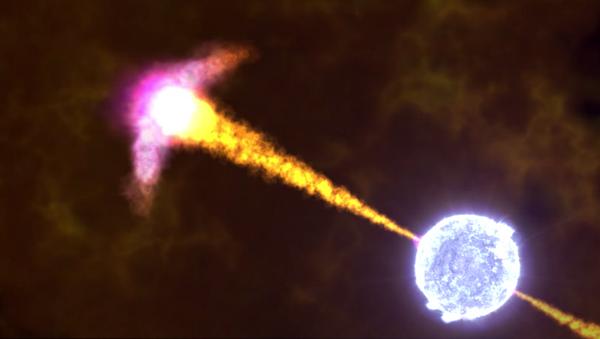 NASA animation of a gamma-ray burst - Sputnik International