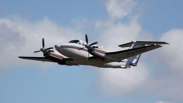 Beechcraft Super King Air 200 taking off - Sputnik International