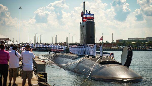 Unveiling of the USS John Warner - Sputnik International