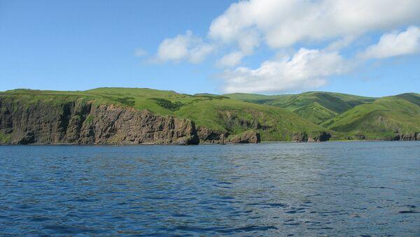 Moneron Island in the Sea of Japan  - Sputnik International