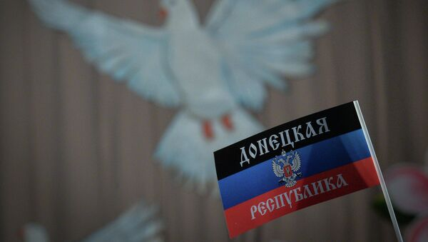 Alexander Zakharchenko visits Novoazovsk - Sputnik International