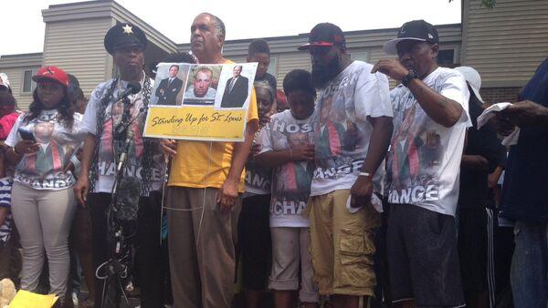 Ferguson, August 9, 2015 - Sputnik International