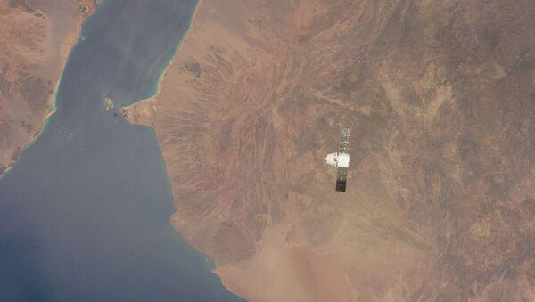Dragon Capsule Over Gulf of Aden, Red Sea - Sputnik International