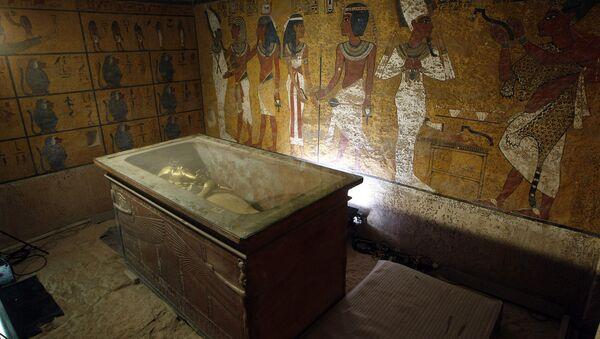 The sarcophagus of King Tutankhamun - Sputnik International