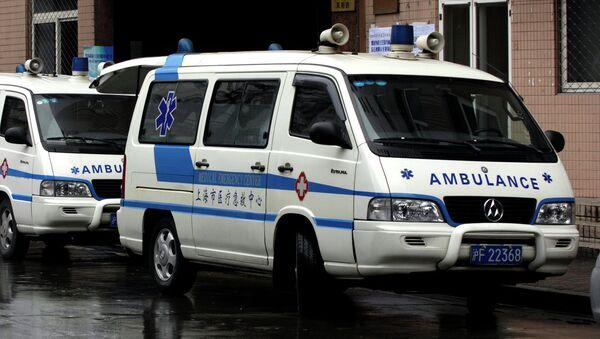 Chinese ambulance - Sputnik International